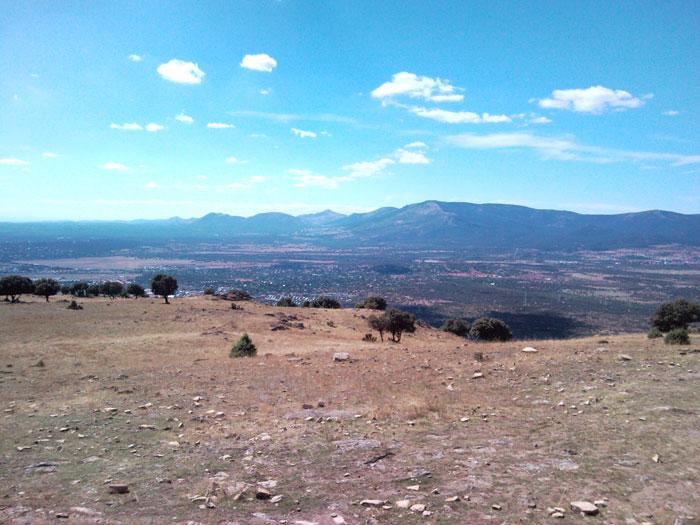 Monte Abantos con El Escorial a sus piés