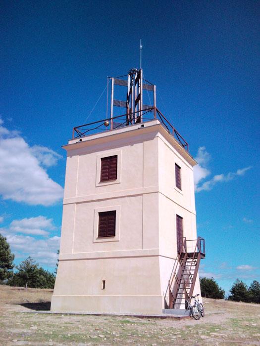 Torre del Telégrafo que hay en Cabeza Mediana