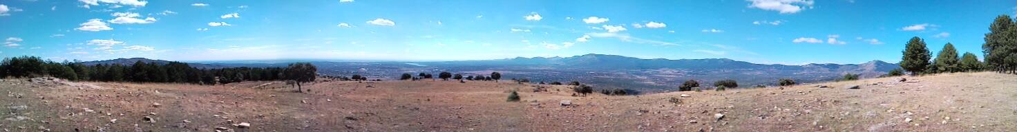 Haz click para ampliar. Vista panorámica desde cerca de la Torre del Telégrafo
